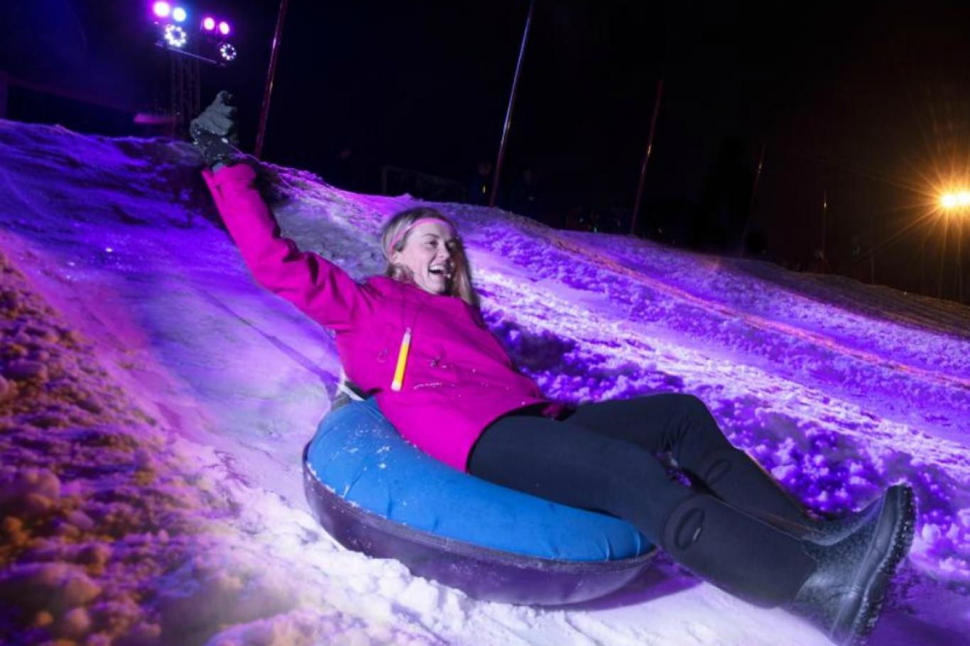 Glow Tubing in Killington