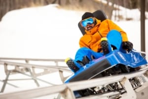 There's More Than Just Skiing In Killington Vt: BEAST MOUNTAIN COASTER